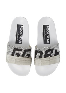 Golden Goose Glitter Poolstar Sport Slide (Women) (Nordstrom Exclusive)