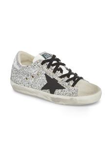 Golden Goose Glitter Superstar Lace-Up Sneaker (Women)