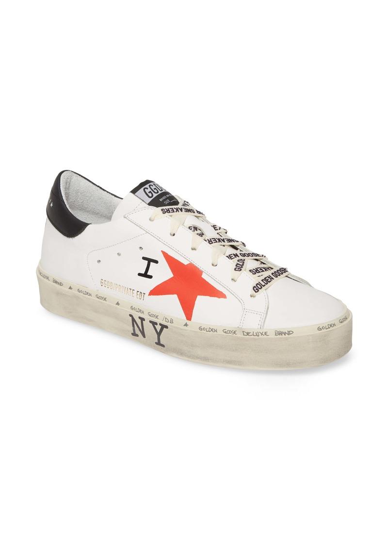Golden Goose Hi Star NYC Graphic Platform Sneaker (Women) (Nordstrom Exclusive)