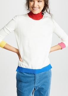 Golden Goose High Neck Elva Wool Sweater