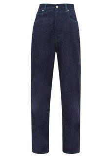 Golden Goose Kim contrast-topstitched straight-leg jeans