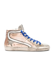 Golden Goose Laminated Slide Sneakers