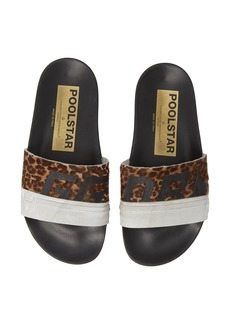 Golden Goose Leopard Poolstar Genuine Calf Hair Sport Slide (Women) (Nordstrom Exclusive)