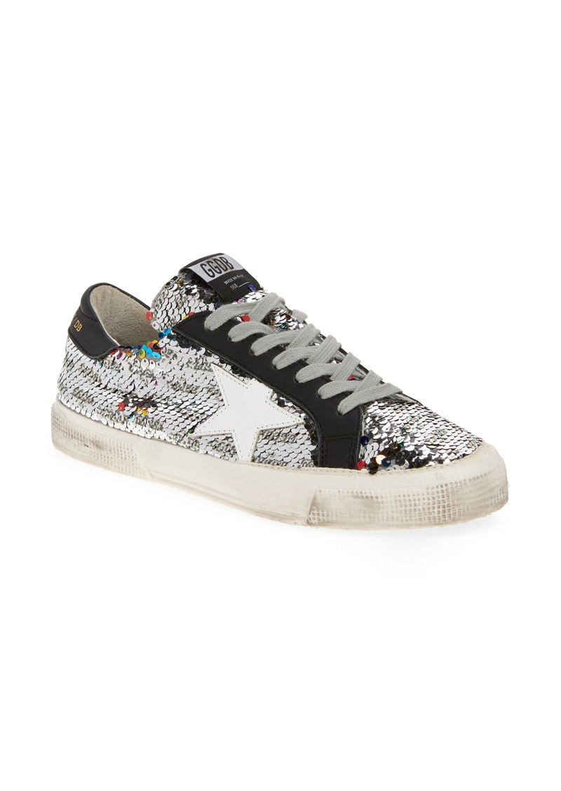 Golden Goose Golden Goose May Flip Sequin Sneaker (Women)  d2c0664d7