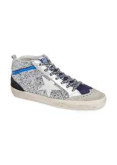 Golden Goose Mid Star Glitter Sneaker (Women)