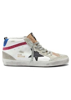 Golden Goose Mid Star high-top leather trainers