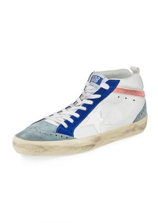Golden Goose Mid-Top Mixed Star Sneaker