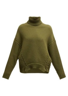 Golden Goose Oversized roll-neck merino wool sweater