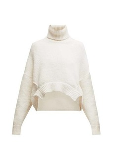 Golden Goose Oversized cropped roll-neck sweater