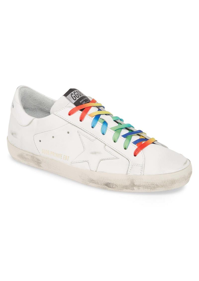 Golden Goose Rainbow Superstar Sneaker (Men)