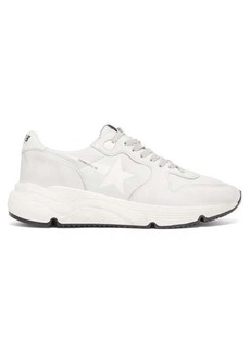 Golden Goose Running Sole leather trainers