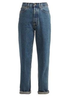 Golden Goose Shannen high-rise straight-leg jeans