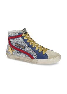 Golden Goose Slide Glitter High Top Sneaker (Women)