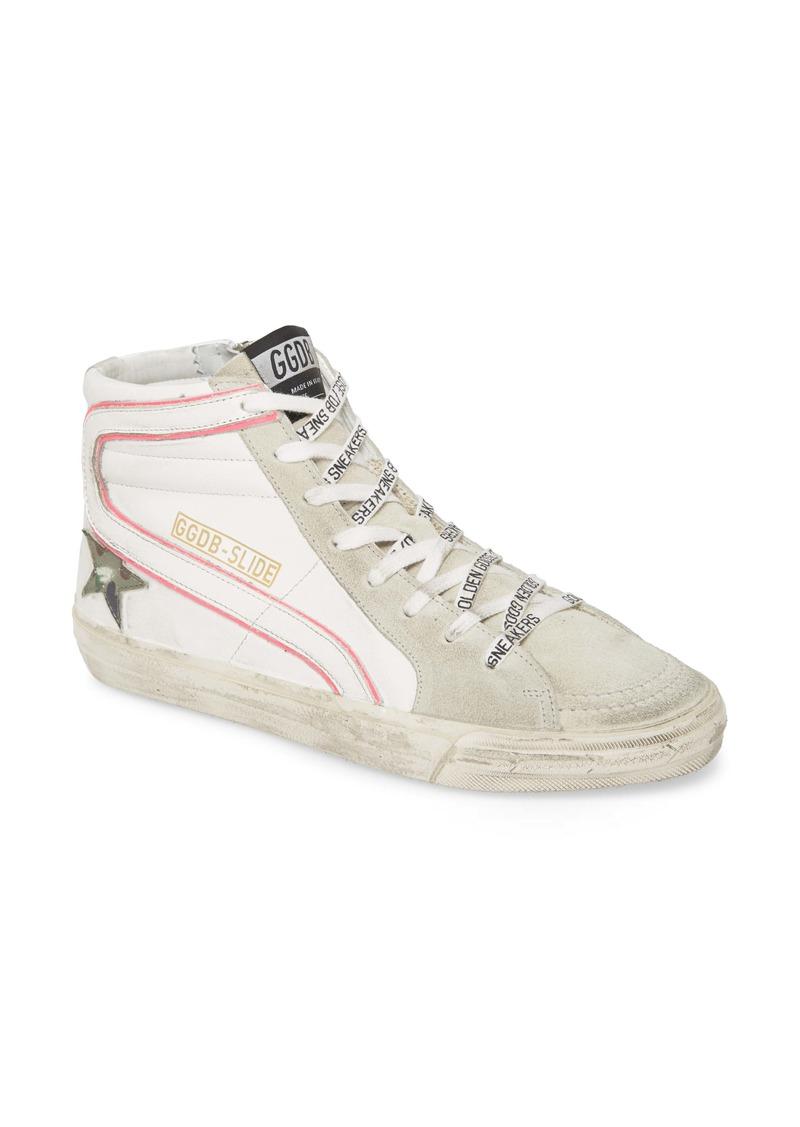 Golden Goose Slide High Top Platform Sneaker (Women)