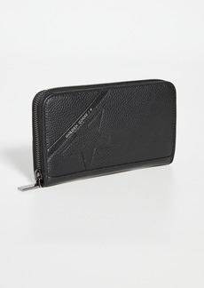 Golden Goose Star Continental Zip Wallet