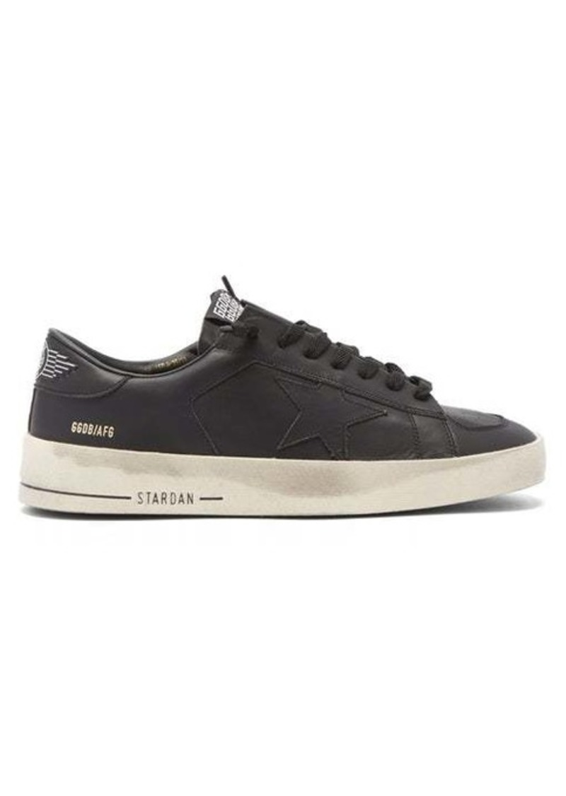 Golden Goose Stardan leather trainers