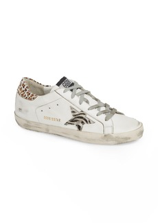 Golden Goose Superstar Genuine Calf Hair Sneaker (Women)