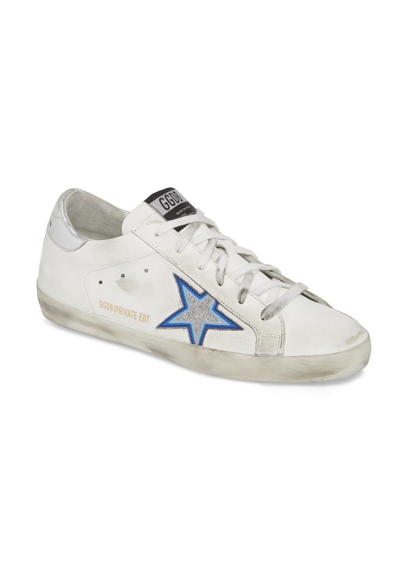 Golden Goose Superstar Glitter Star Sneaker (Women) (Nordstrom Exclusive)