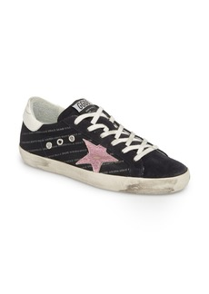 Golden Goose Superstar Logo Low Top Sneaker (Women)