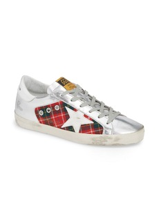 Golden Goose Superstar Plaid Sneaker (Women) (Nordstrom Exclusive)