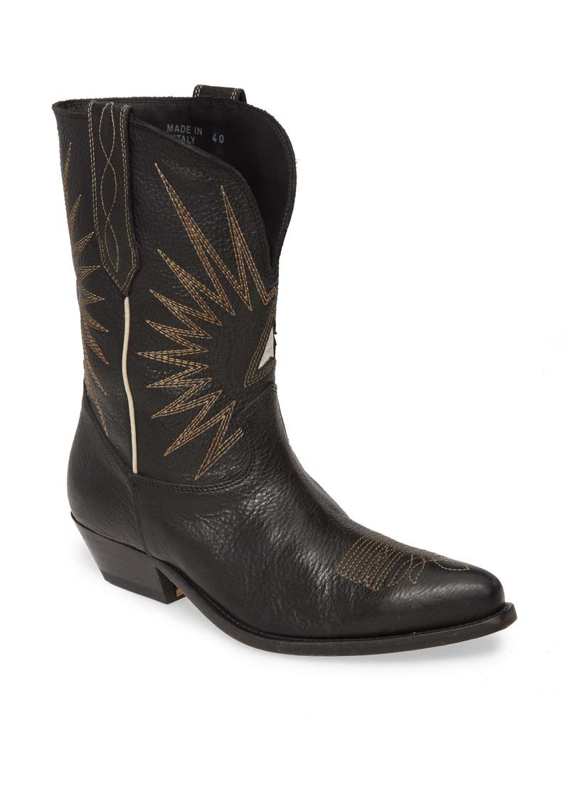 Golden Goose Wish Star Cowboy Boot (Women)