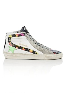 "Golden Goose Women's ""Slide"" Leather Sneakers"