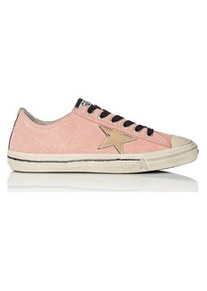 Golden Goose Women's Women's V-Star 2 Suede Sneakers