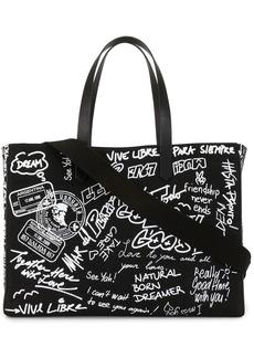 Golden Goose graffiti-print tote bag