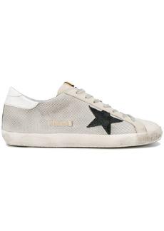 Golden Goose Grey Cord Superstar Sneakers