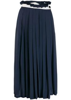 Golden Goose Hasu pleated midi skirt