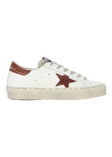 Golden Goose Hi Star Low-Top Leather Sneakers
