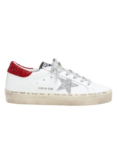 Golden Goose Hi Star Swarovski-Embellished Low-Top Sneakers
