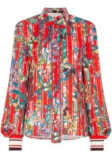 Golden Goose Isako floral print shirt