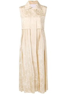Golden Goose jacquard shirt dress