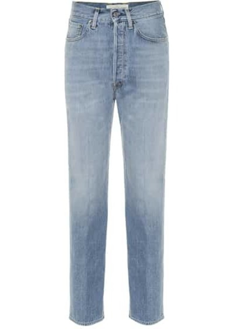 Golden Goose Judy high-rise straight jeans
