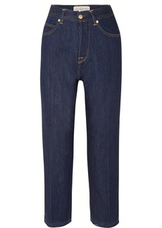Golden Goose Komo Cropped High-rise Straight-leg Jeans