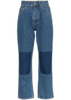 Golden Goose 'Komo' high-waisted panel detail jeans