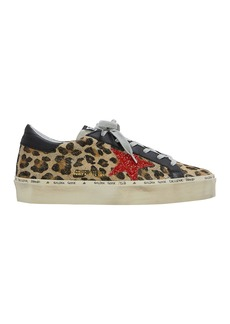 Golden Goose Hi Star Leopard Low Top Sneakers
