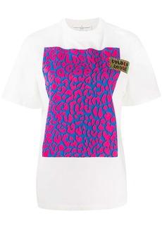 Golden Goose leopard panel T-shirt