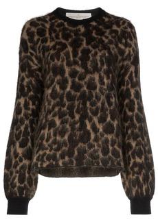 Golden Goose leopard pattern jumper