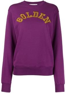 Golden Goose logo detail sweatshirt