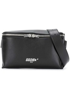 Golden Goose logo print belt bag
