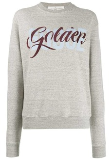 Golden Goose logo print sweatshirt