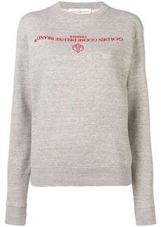 Golden Goose logo sweater