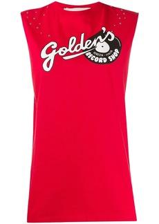 Golden Goose logo tank top