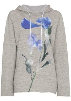 Golden Goose Loretta hoodie with floral motif