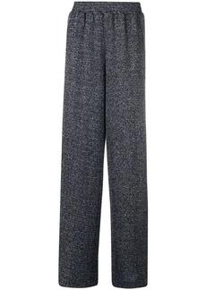 Golden Goose lurex wide leg trousers