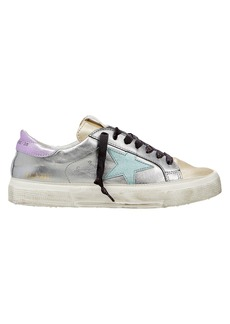 Golden Goose May Colorblock Low-Top Sneakers
