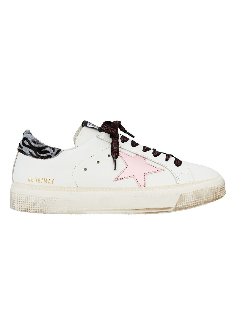 150db5b56bc01 Golden Goose May Pink Star Low-Top Sneakers