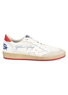 Golden Goose Men's Ballstar Net Low-Top Sneakers